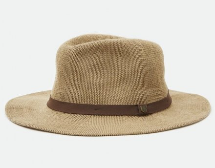 Hattar - Brixton Messer Knit Packable Fedora (natur)