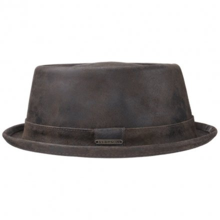 Hattar - Stetson Hobbs Leather (brun)