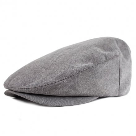 Sixpence / Flat cap - Brixton Barrel (grey chambray)