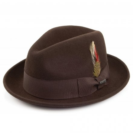 Hatte - Crushable Blues Trilby (brun)