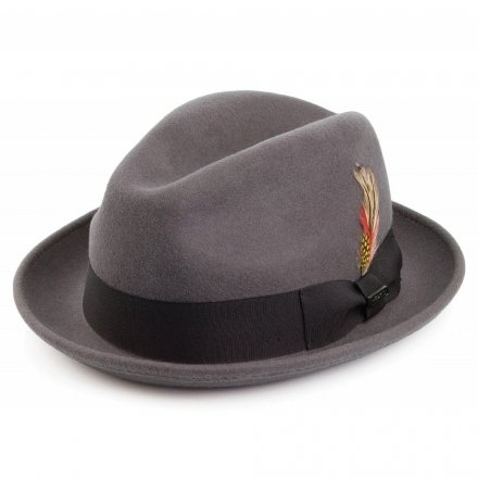 Hattar - Crushable Blues Trilby (grå)