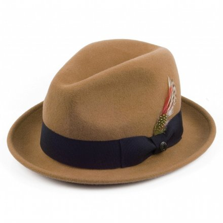Hattar - Crushable Blues Trilby (ljusbrun)