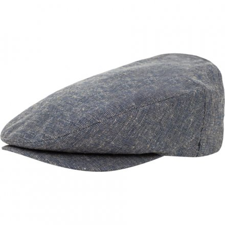 Sixpence / Flat cap - Brixton Barrel (navy/cream)
