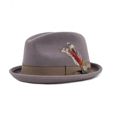 Hatter - Brixton Gain (grey/gold)