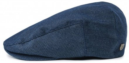 Gubbkeps / Flat cap - Brixton Hooligan (dark denim)