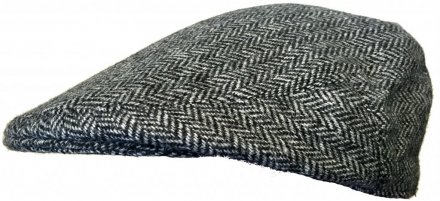 Gubbkeps / Flat cap - Lawrence and Foster Garforth (grå herringbone)