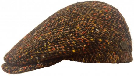 Sixpence / Flat cap - MJM Jordan Wool (brun-orange)