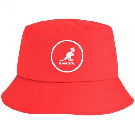 Hatte - Kangol Cotton Bucket (rød)