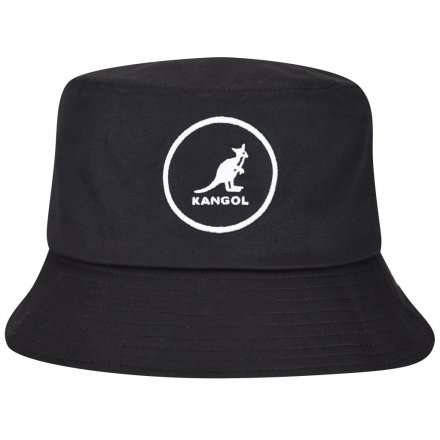 Hatte - Kangol Cotton Bucket (sort)