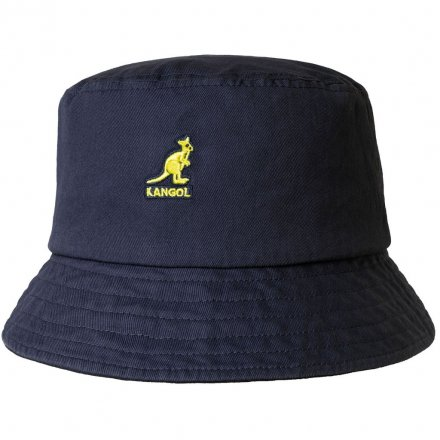 Hattar - Kangol Washed Bucket (marinblå)