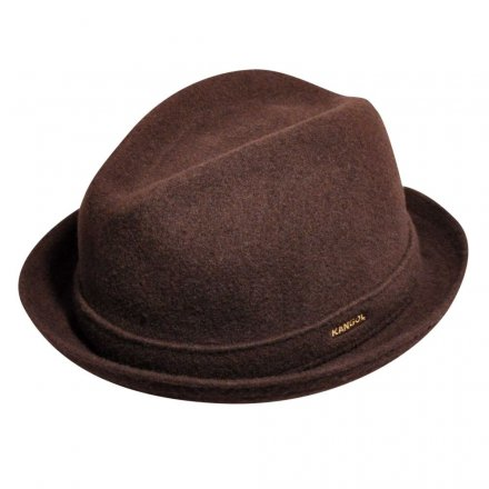 Hattar - Kangol Wool Player (brun)