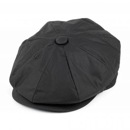 Sixpence / Flat cap - Jaxon Hats Oil Cloth Newsboy Cap (sort)