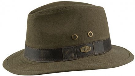 Hatte - MJM Outback Washed Canvas (oliven)
