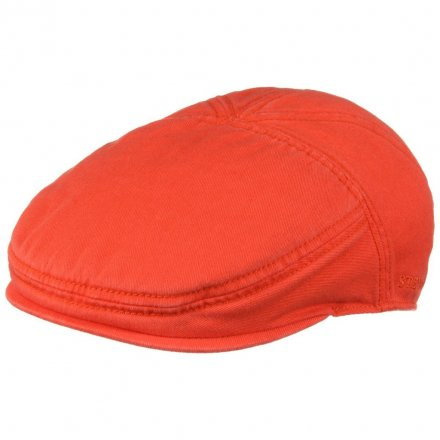 Gubbkeps / Flat cap - Stetson Paradise Cotton (orange)