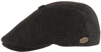 Sixpence / Flat cap - MJM Rebel Eco Merino Wool (antracit)