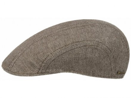Gubbkeps / Flat cap - Stetson Madison Cotton/Linen (brun)