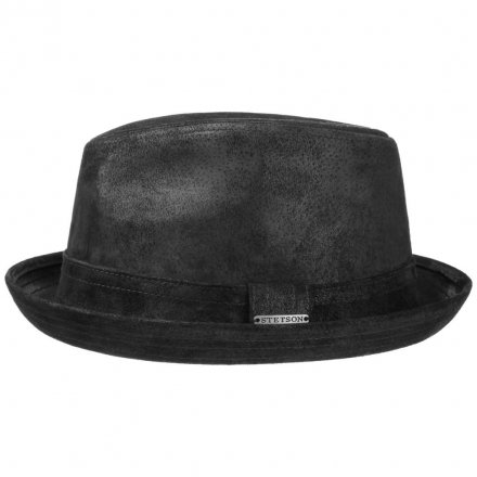 Hattar - Stetson Radcliff Leather (svart)