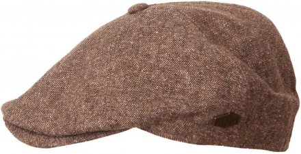 Sixpence / Flat cap - MJM Rebel Silk Mix (brun)