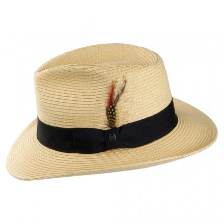 Hattar - Summer C-Crown Fedora (natur)