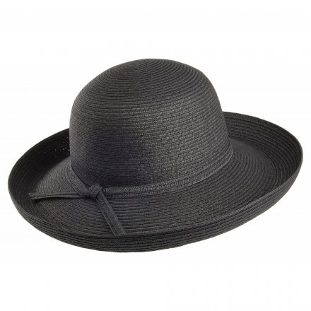 Hatter - Traveller Sun Hat (sort)