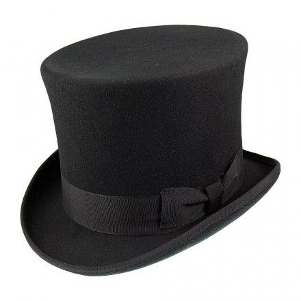 Hattar - Jaxon Victorian Top Hat (hög hatt) (svart) b537774bbbbd3