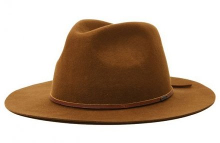 Hattar - Brixton Wesley Packable Fedora (coffee)