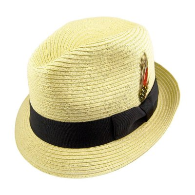 Hattar - Summer Blues Trilby (natur)