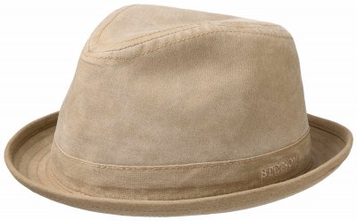 Hattar - Stetson Player Organic Cotton (beige)