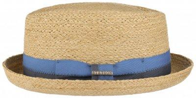 hattar stetson chipley raffia pork pie natur stråhattar populära  hattmodeller 631db36f6e079