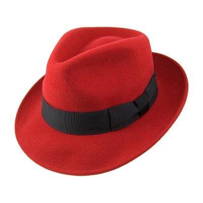 hattar pachuco fedora röd fedorahattar populära hattmodeller e2f61910a2f96