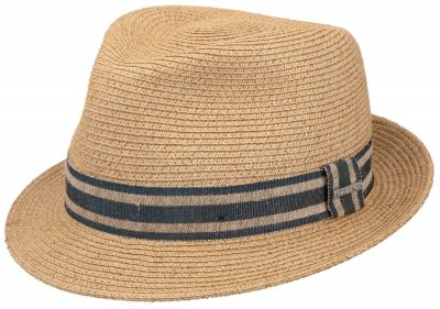 Hattar - Stetson Player Linen Mix (natur)