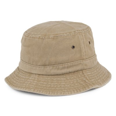 Hattar - Cotton Bucket Hat (khaki)