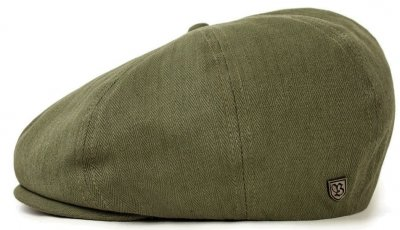 Gubbkeps / Flat cap - Brixton Brood (light olive)