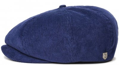 Gubbkeps / Flat cap - Brixton Brood Cord (patriot blue)