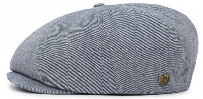 Gubbkeps / Flat cap - Brixton Brood (blue denim)