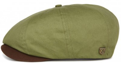 Gubbkeps / Flat cap - Brixton Brood (light olive/brown)