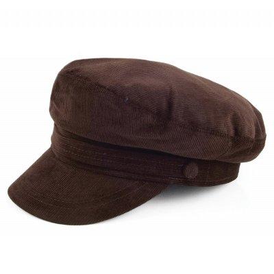 vegamössa skepparmössa jaxon hats corduroy fiddler cap brun gubbkeps flat  caps her. 3df190208c1a7