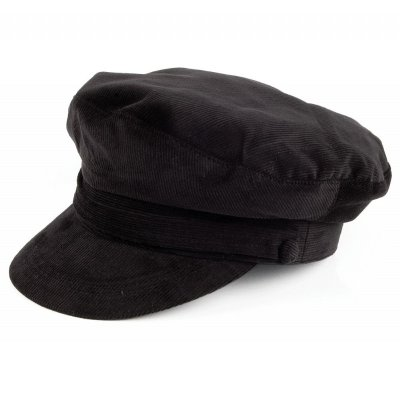 vegamössa skepparmössa jaxon hats corduroy fiddler cap svart damhattar 3bfa9a227822d
