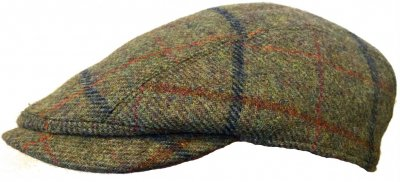 Gubbkeps / Flat cap - Lawrence and Foster Linton (grön tweed)