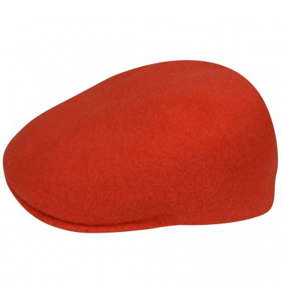 Gubbkeps / Flat cap - Kangol Seamless Wool 507 (orange)