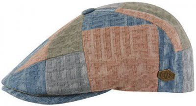 Gubbkeps / Flat cap - MJM Rebel Cotton (patchwork)