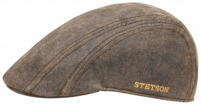 Gubbkeps / Flat cap - Stetson Madison Old Cap Winter (brun)