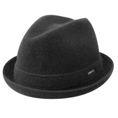 Hattar - Kangol Wool Player (svart)